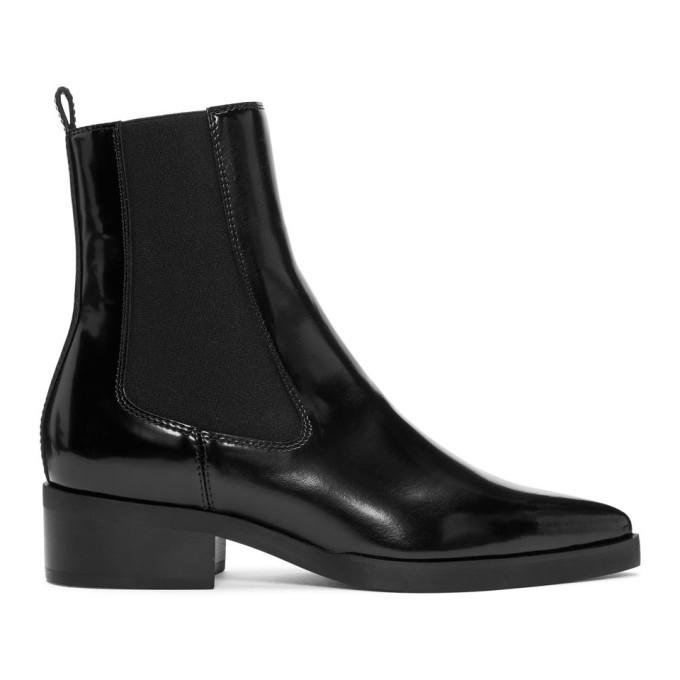 Photo: Stella McCartney Black Pointed Chelsea Boots