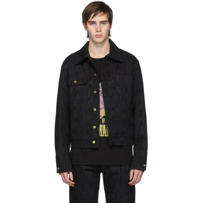 Photo: Linder Black Denim Moire Effect Jacket