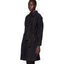 3.1 Phillip Lim Blue Wool Dolman Sleeve Coat