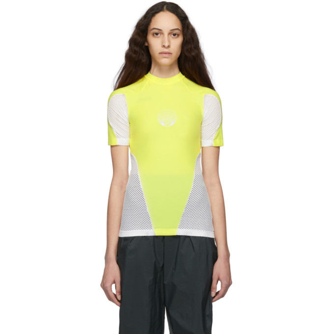 GmbH Yellow Recycled Technical T-Shirt