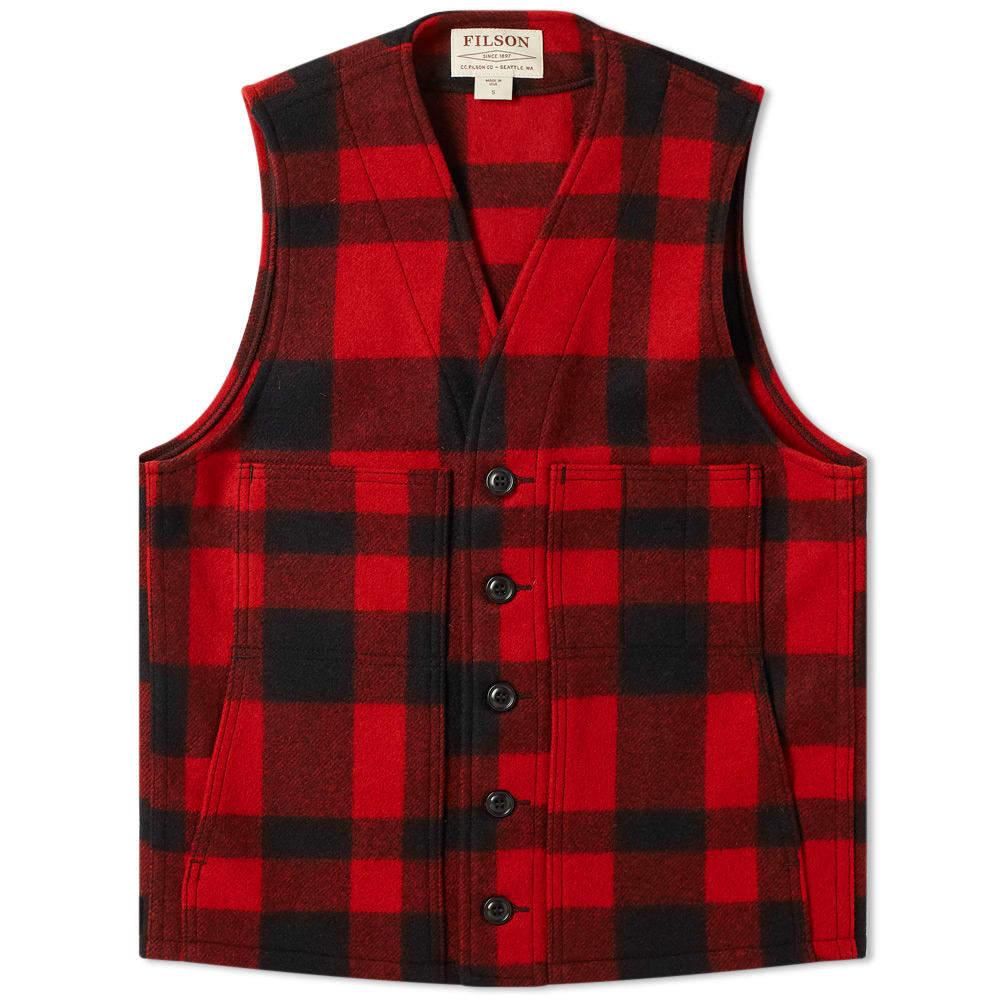 Photo: Filson Mackinaw Wool Vest