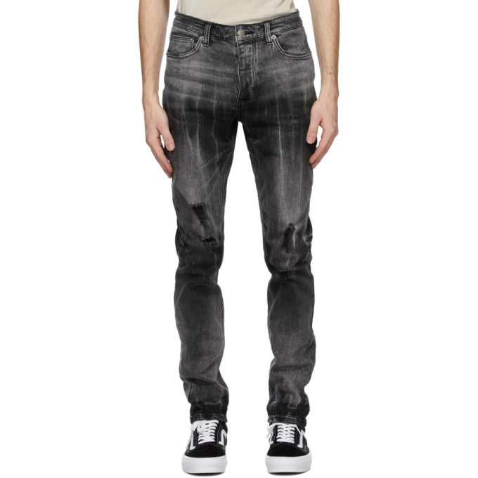 Ksubi Grey Chitch Smoke Out Jeans