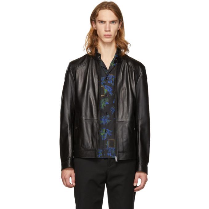 Photo: Boss Black Leather Nocan Jacket