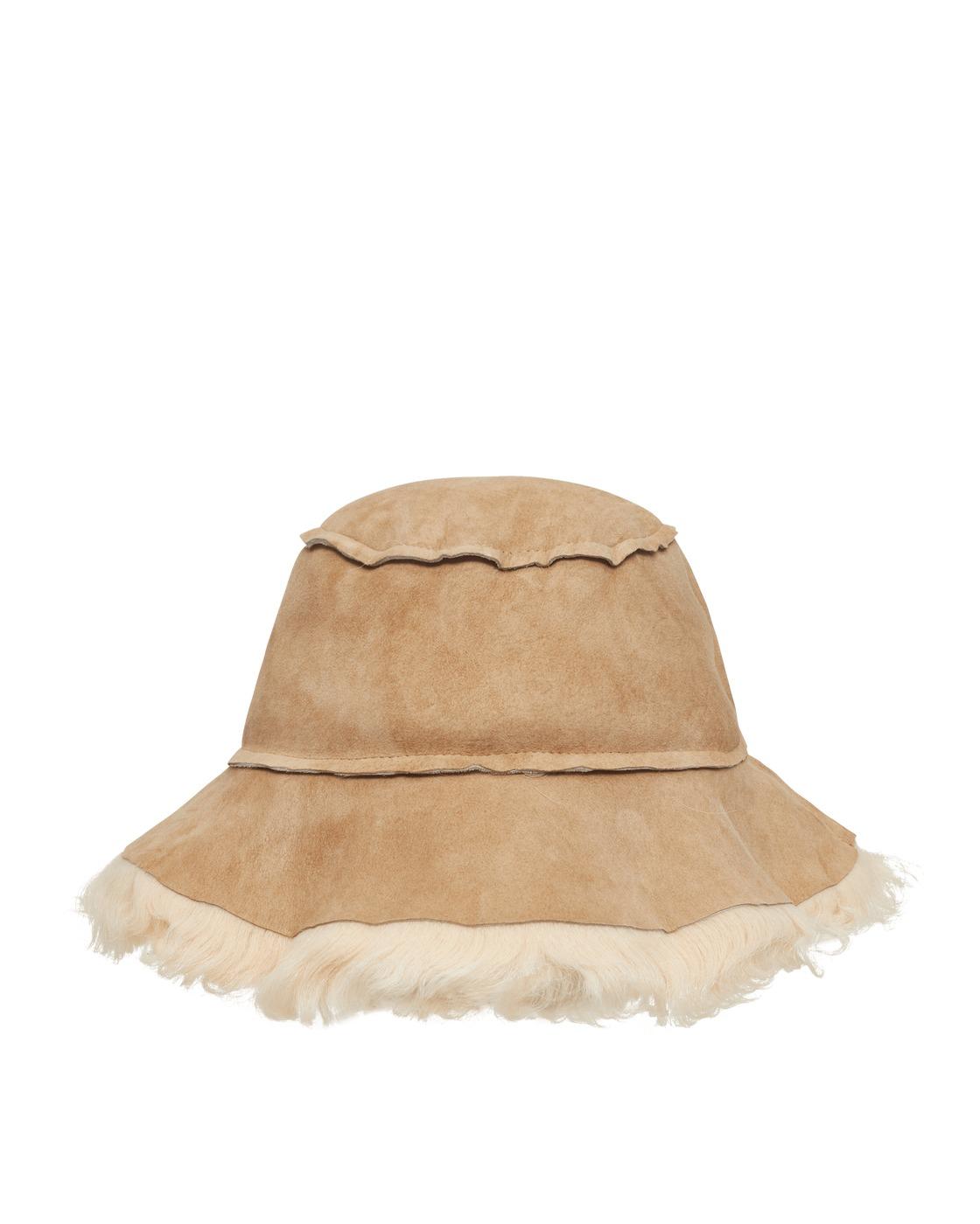 Photo: Acne Studios Bucket Hat Linen Beige/Ecru