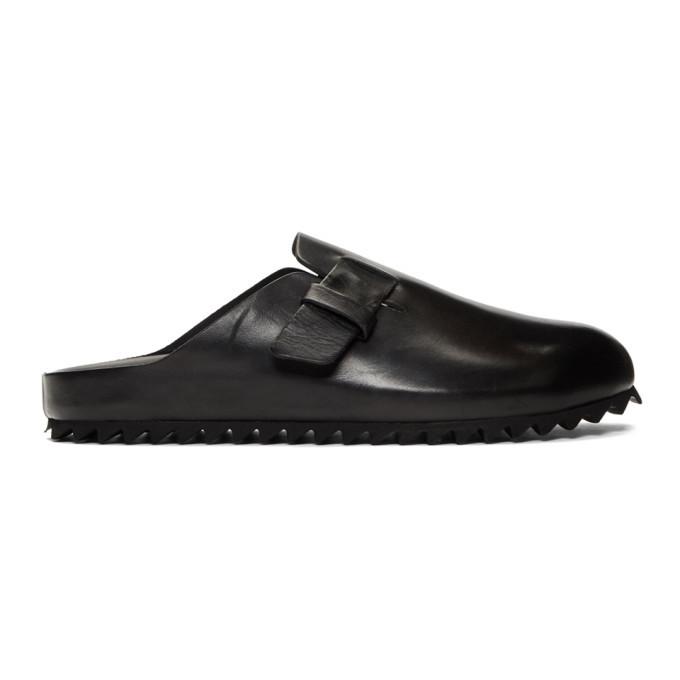 Photo: Officine Creative Black Agora 4 Sandals