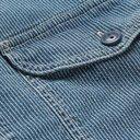 RRL - Lee Striped Cotton-Chambray Shirt - Blue