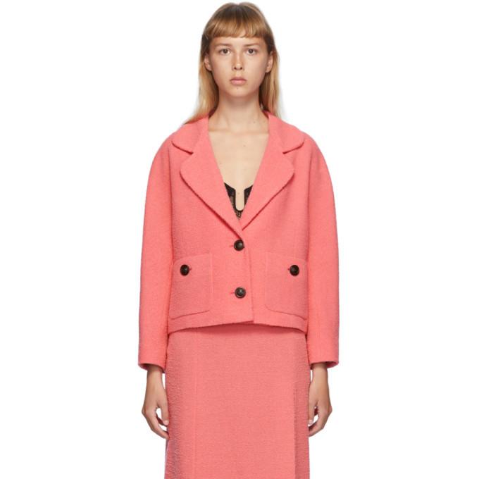 Photo: Gucci Pink Tweed Blazer