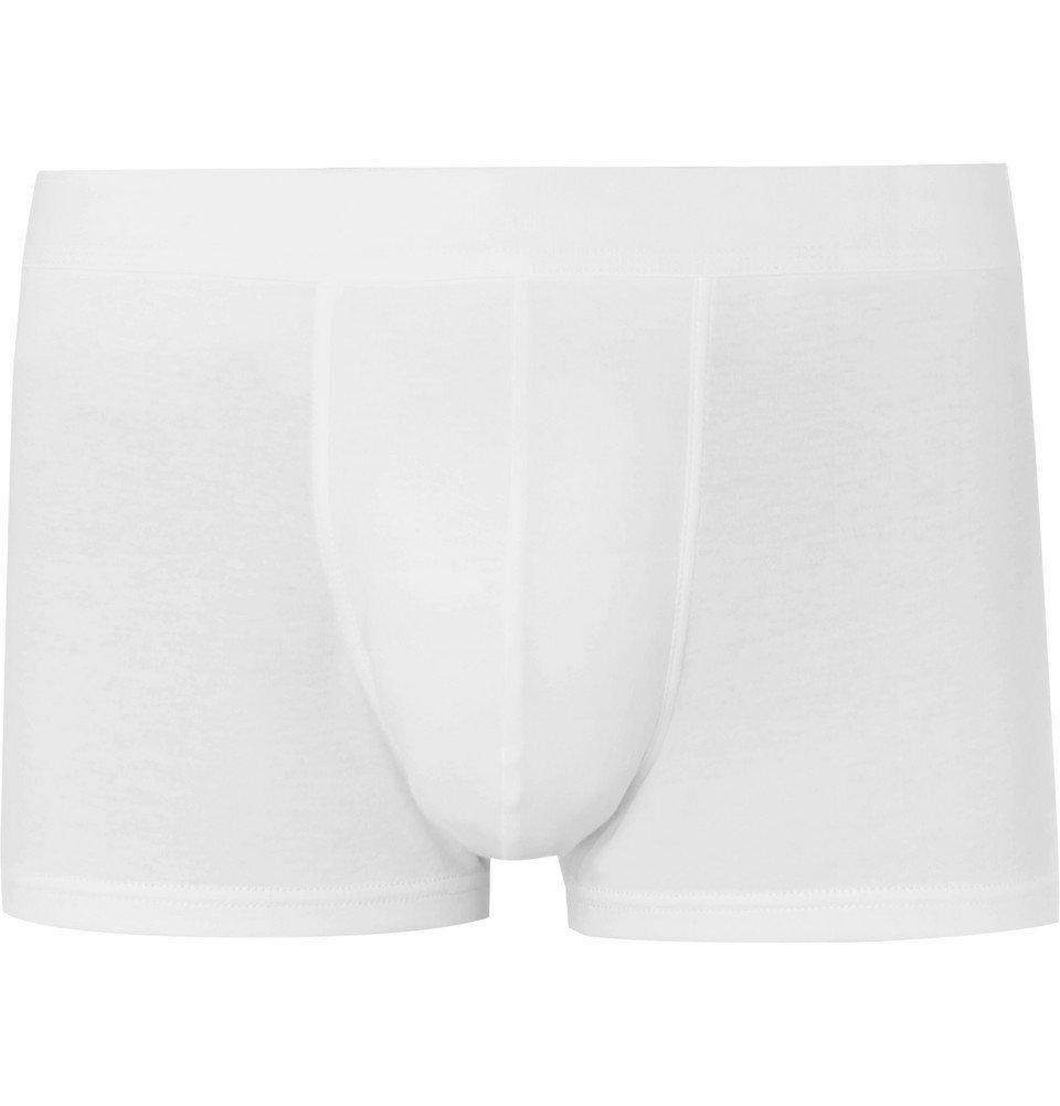 Photo: Sunspel - Sea Island Cotton Boxer Briefs - White