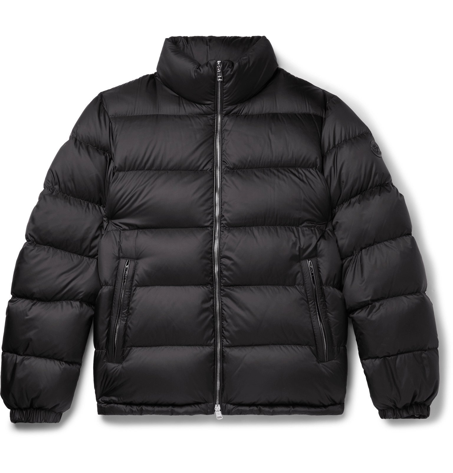Photo: Moncler - Zin Slim-Fit Quilted Shell Down Jacket - Blue