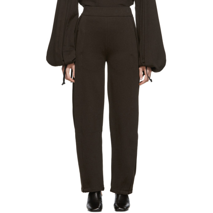 Photo: Lemaire Brown Fleece Lounge Pants