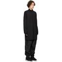 Y-3 Black Craft 3-Stripes Hooded Vest