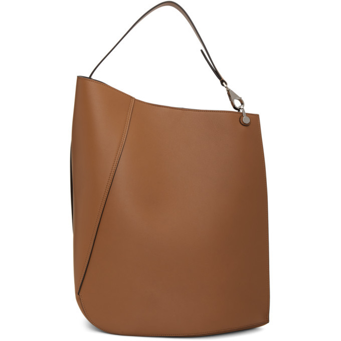 Photo: Lanvin Beige Large Asymmetric Bucket Bag