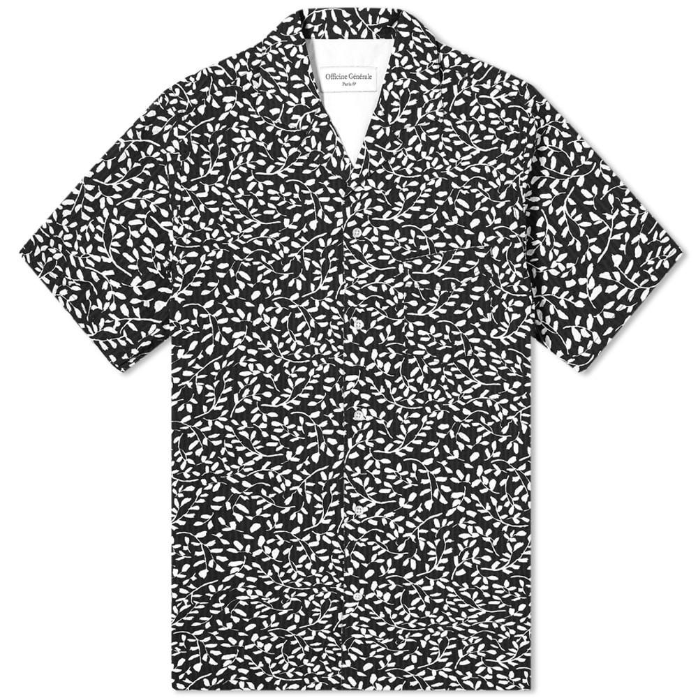 Photo: Officine Generale Short Sleeve Dario Shirt