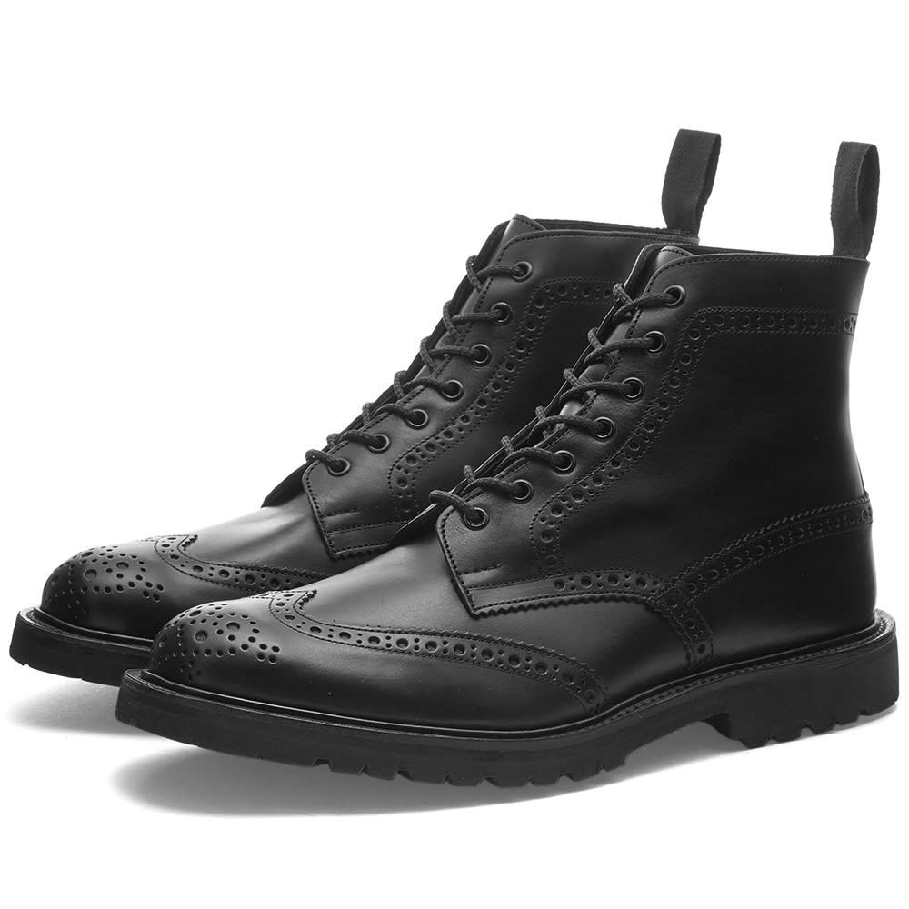 Photo: Trickers Stow Vi-Lite Brogue Boot
