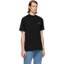 Martine Rose Black Side Rib T-Shirt