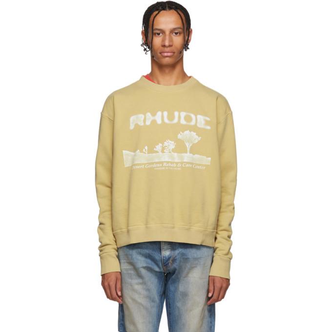 Photo: Rhude Yellow Desert Sweatershirt