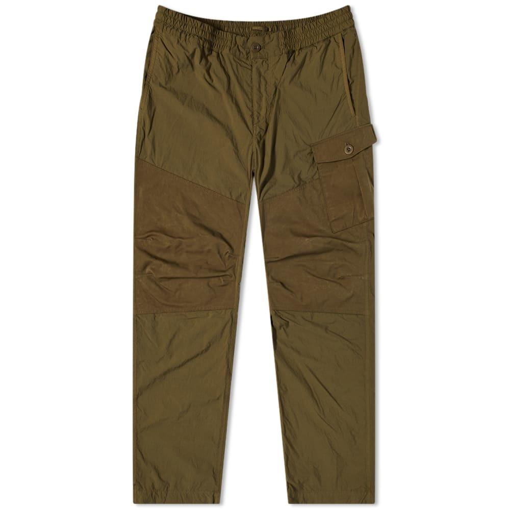 Photo: Ten-C Garment Dyed Nylon Cargo Pants
