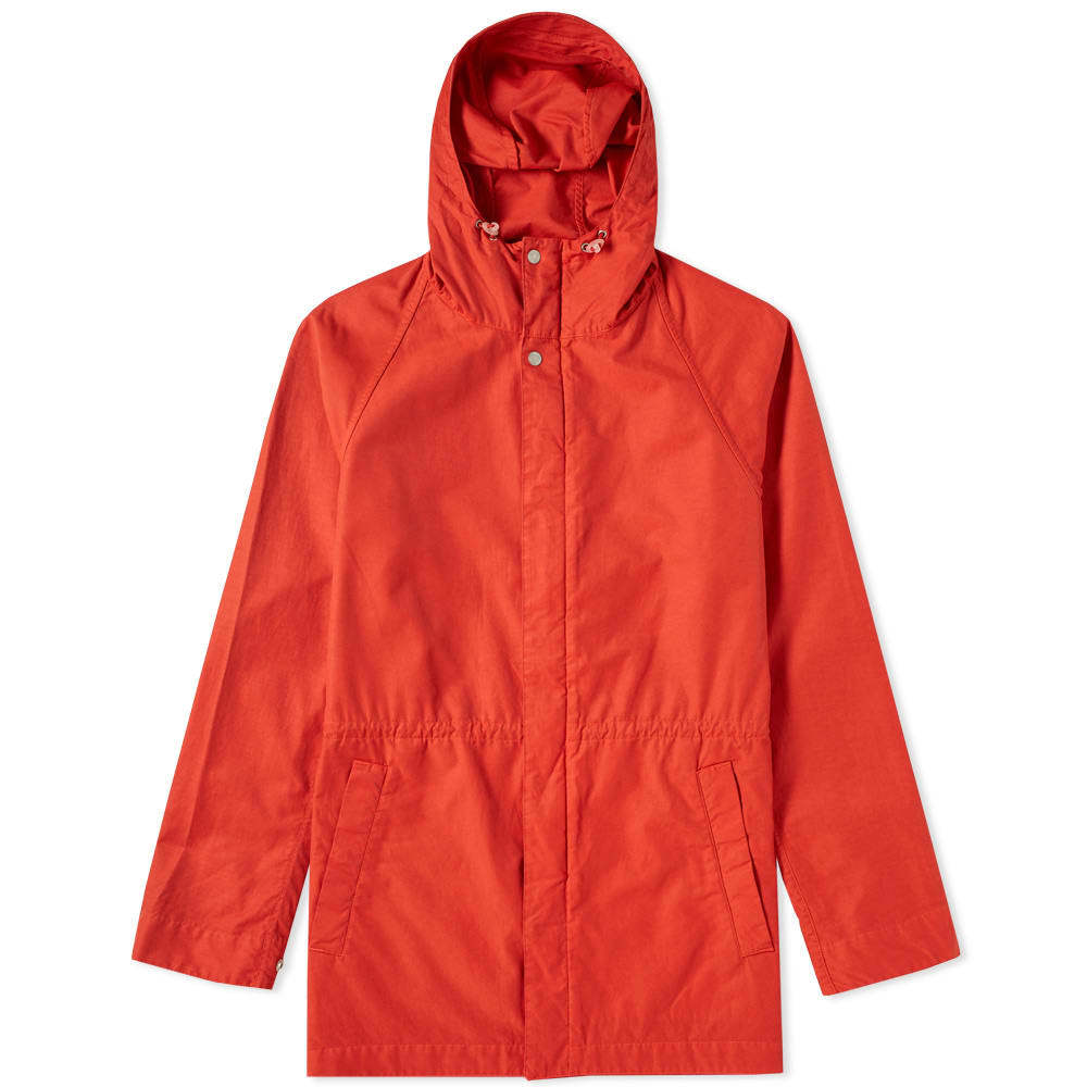 Photo: Norse Projects Lindisfarne Nylon Jacket Red