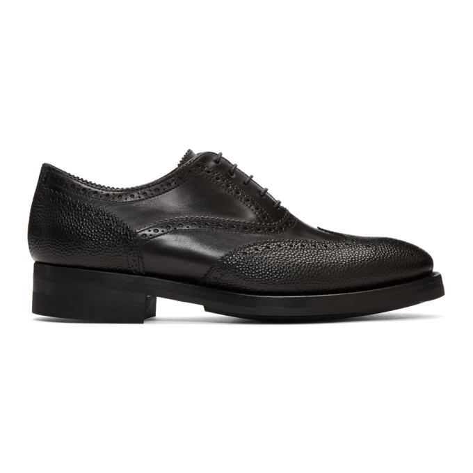 Photo: Paul Smith Black Bradley Brogues