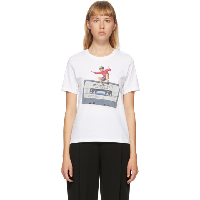 Photo: Undercover White Cassette T-Shirt