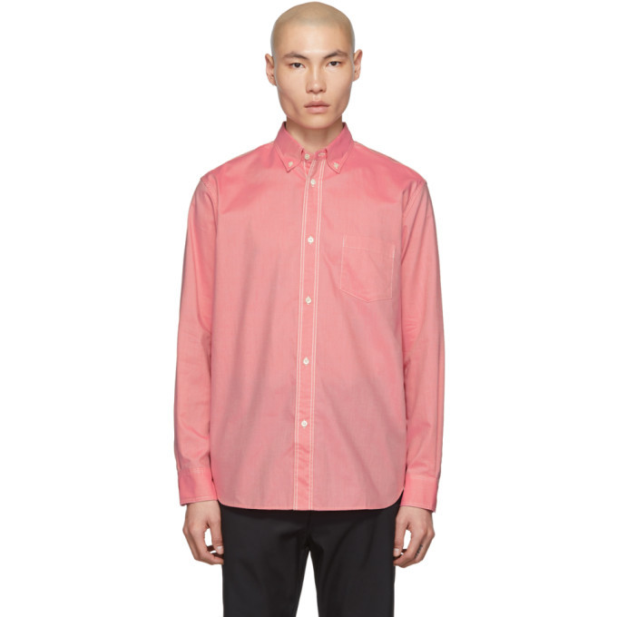 Photo: Comme des Garcons Homme Pink Oxford Shirt
