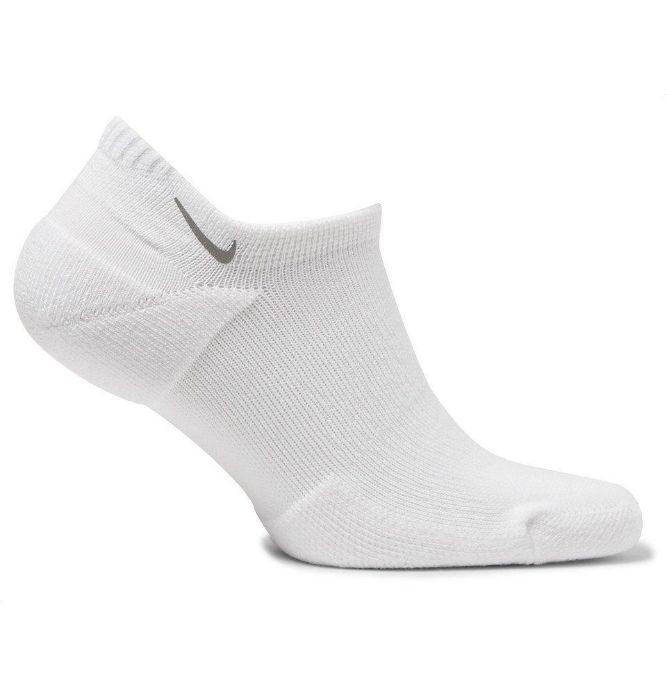 Nike Running - Spark Dri-FIT No-Show Socks - White