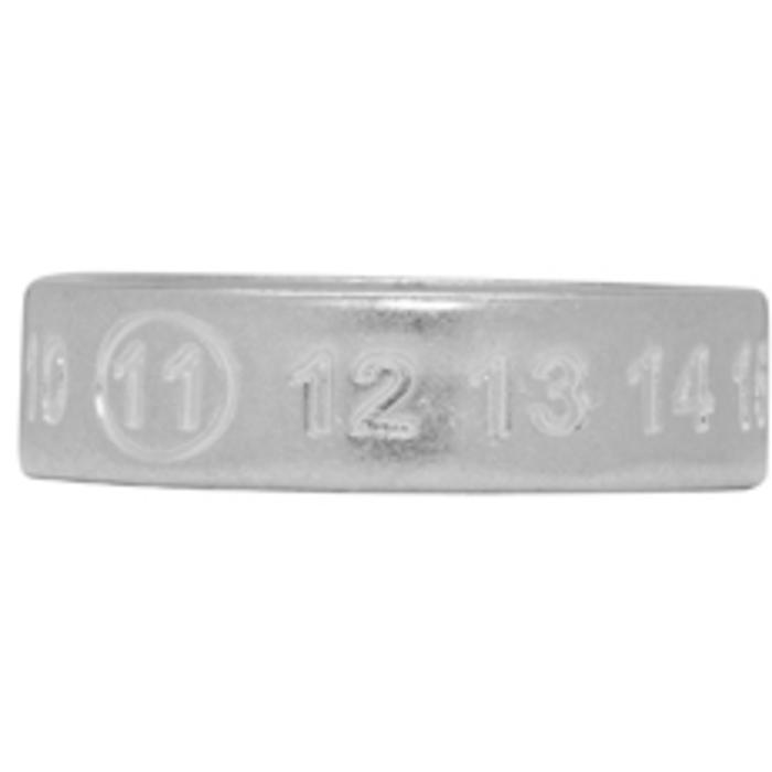 Photo: Maison Margiela Silver Logo Ring