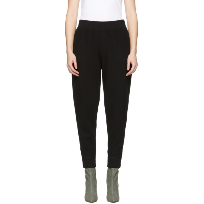 alexanderwang.t Black Wool Lounge Pants