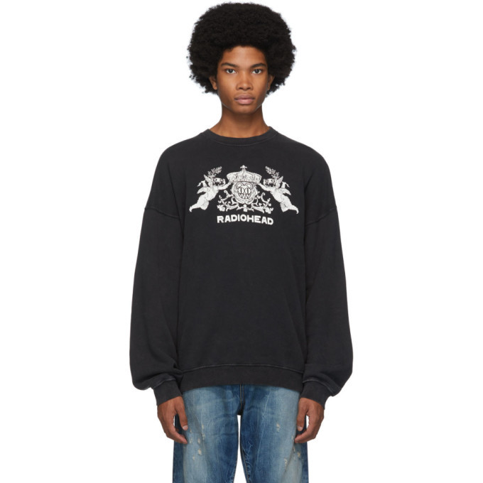 Photo: R13 Black Bearhead Crest Sweatshirt