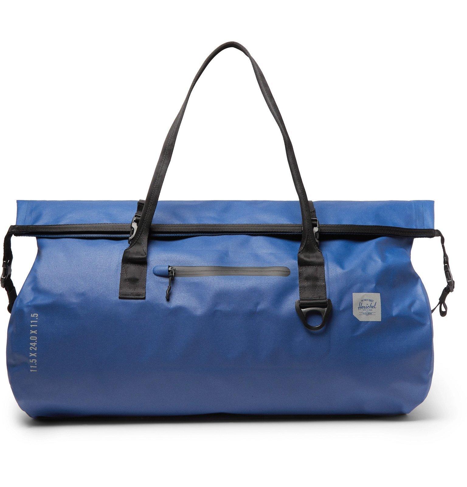 Photo: Herschel Supply Co - Coast Tarpaulin Duffle Bag - Blue