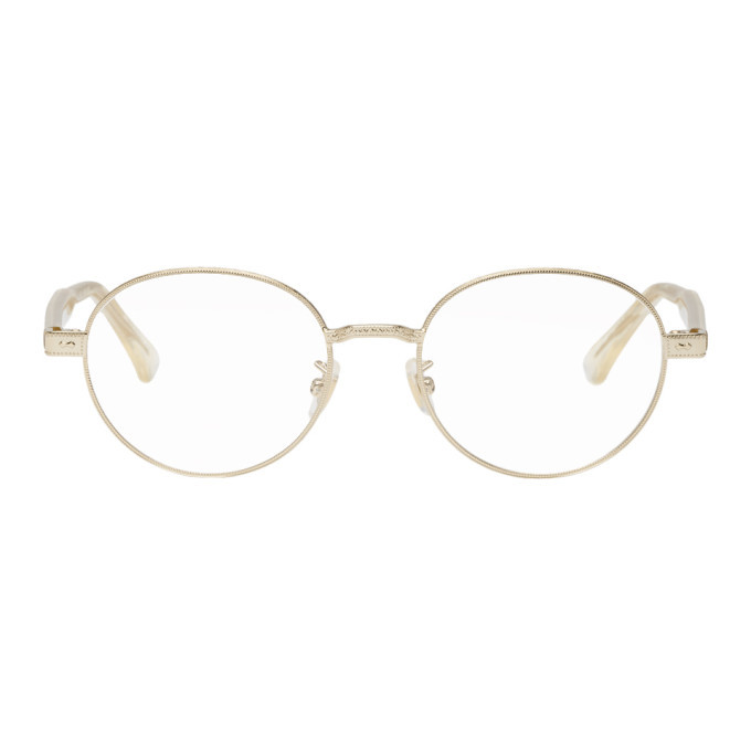 e8746754afb Gucci Gold Round Glasses Gucci