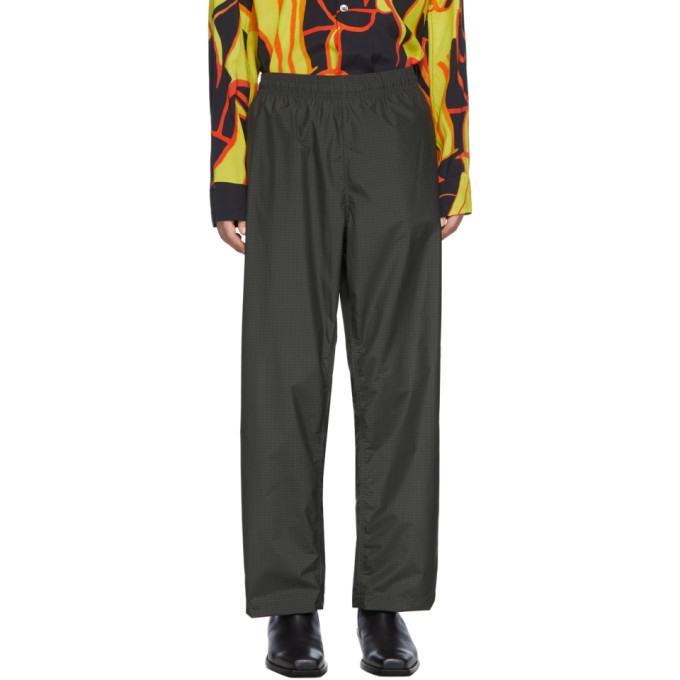 Photo: Our Legacy Black Check Reduced Trousers
