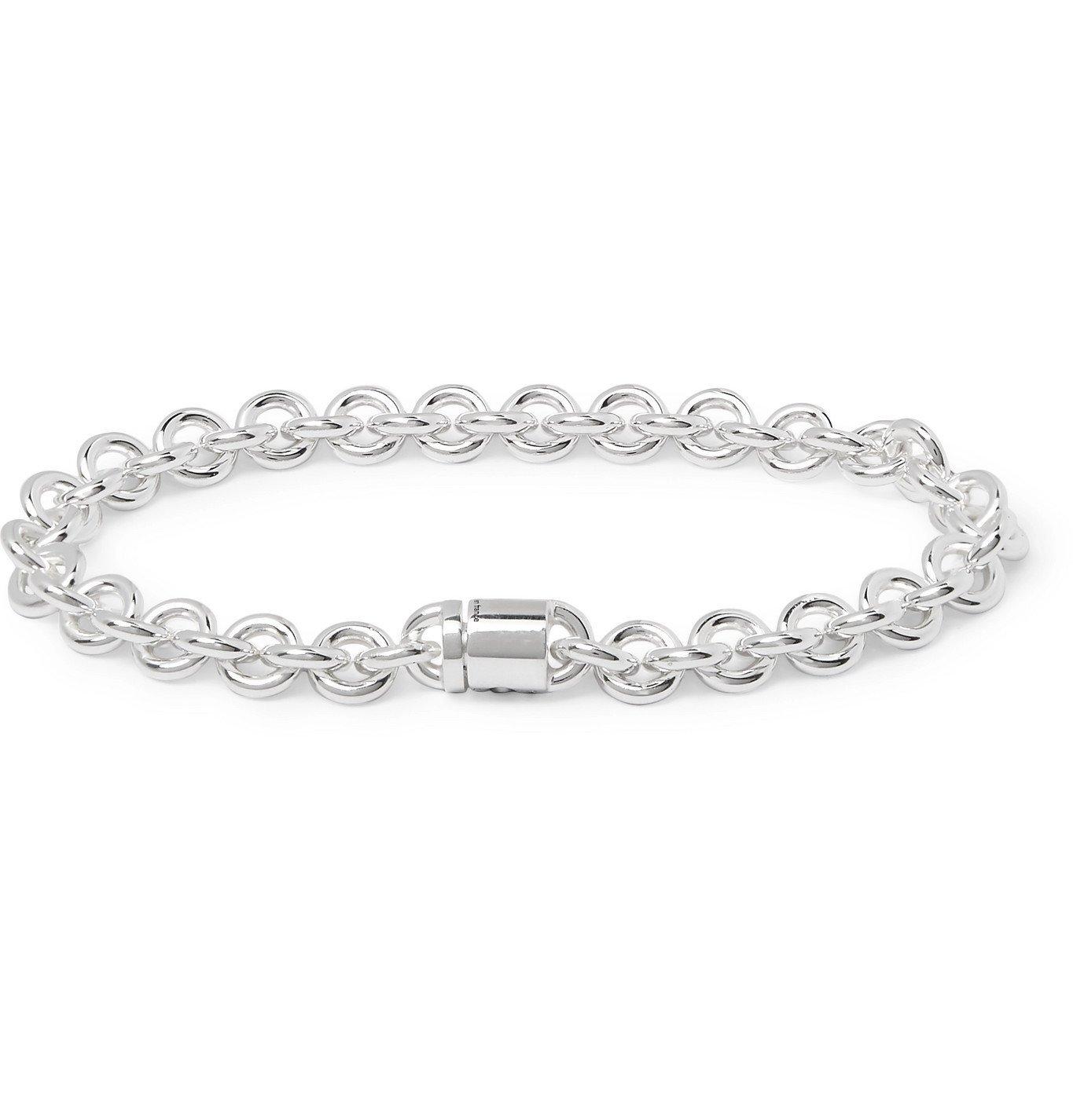 Photo: Le Gramme - Le 21 Sterling Silver Chain Bracelet - Silver