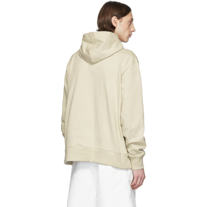 Y-3 Off-White Distressed Signature Hoodie