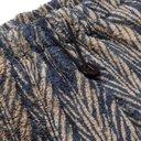 KAPITAL - Java-Yabane Tapered Printed Fleece Sweatpants - Blue