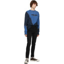 Ksubi Blue Eterno Dye Long Sleeve T-Shirt