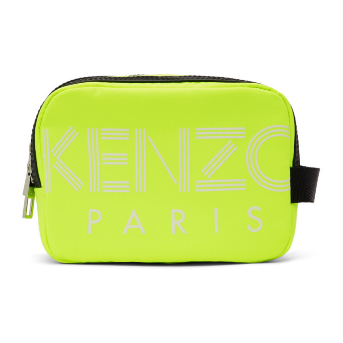 Photo: Kenzo Yellow Cosmetic Pouch