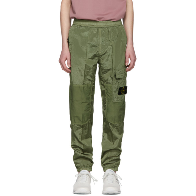 Photo: Stone Island Green Ripstop Cargo Pants