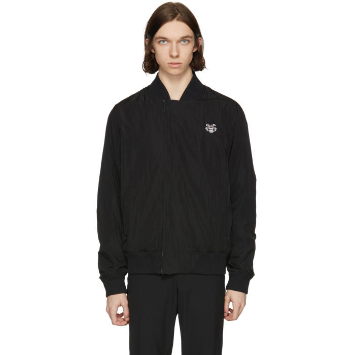 Photo: Kenzo Reversible Black Core Bomber Jacket