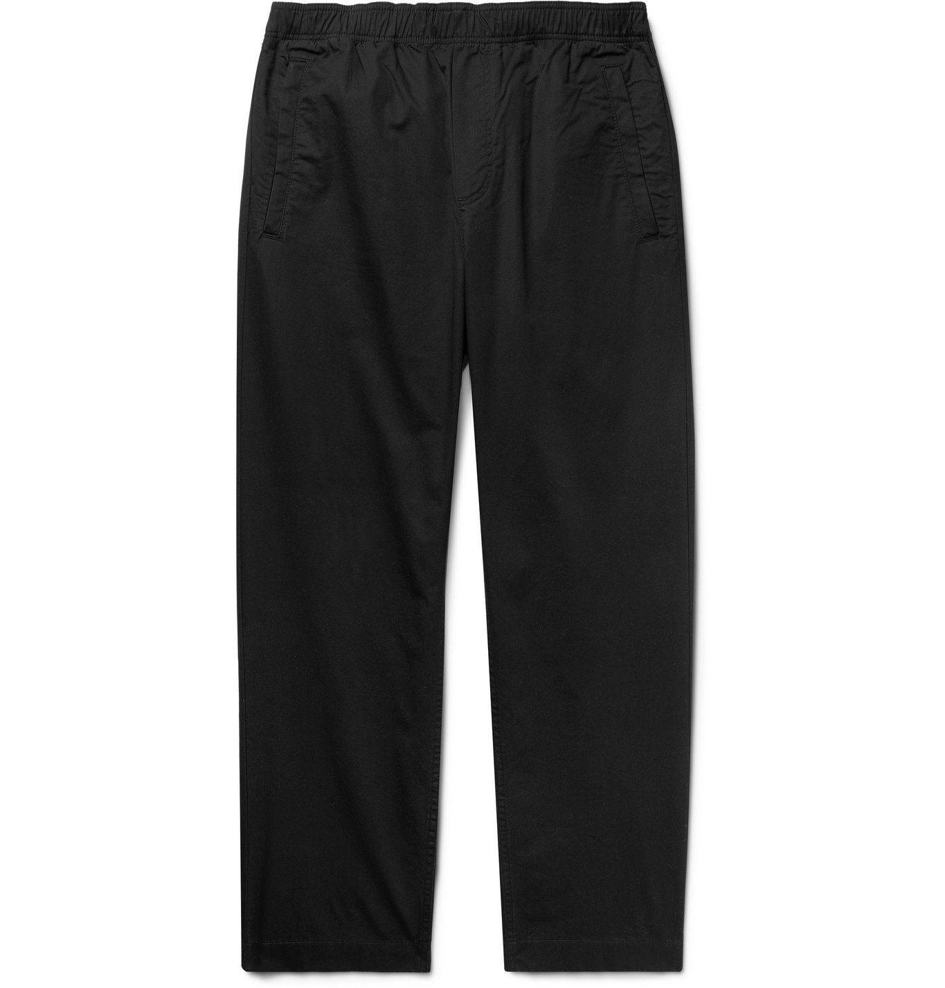 Wood Wood - Stanley Cotton Trousers - Black