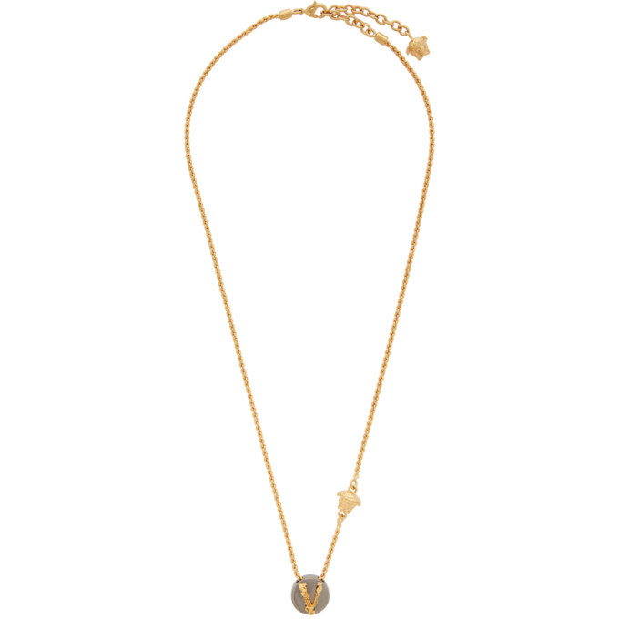 Photo: Versace Gold Virtus Necklace