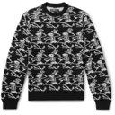 AMIRI - Intarsia Cashmere Sweater - Black