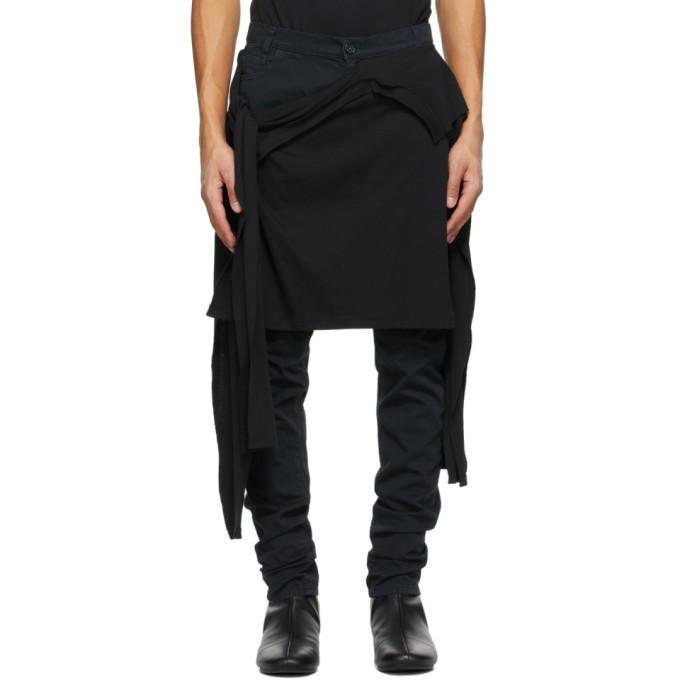 Raf Simons Black T-Shirt Jeans