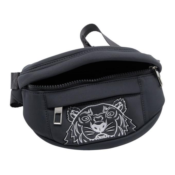 Kenzo Grey Limited Edition Mini Tiger Bum Bag