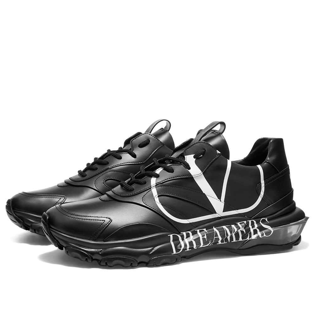 Photo: Valentino Go Dreamers Logo Bounce Sneaker