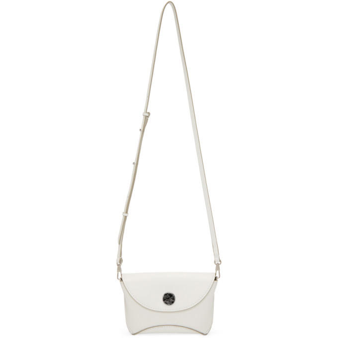 3.1 Phillip Lim White Hammered Hudson Bag
