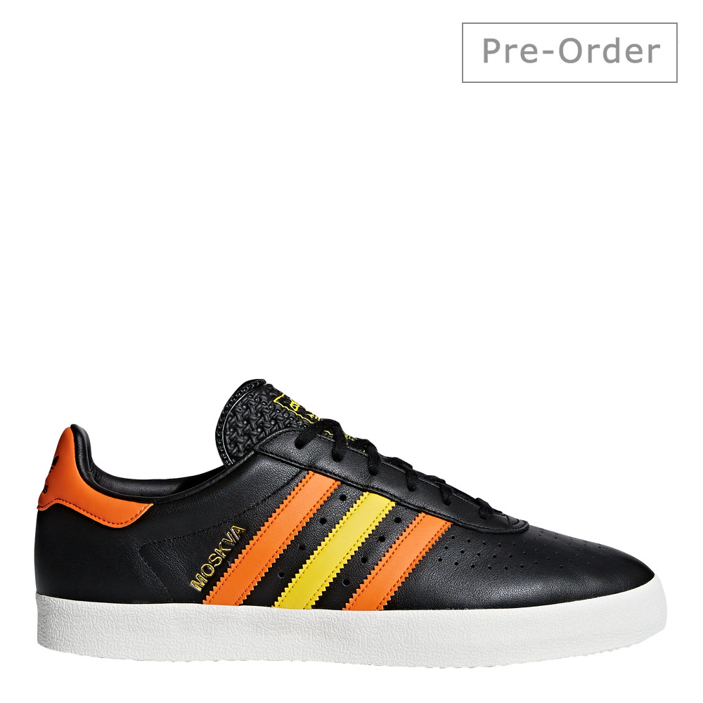 350 Trainers - Black / Orange / Yellow