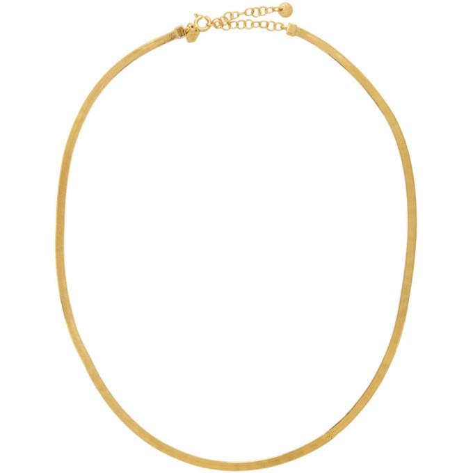 Photo: Maria Black Gold Mio Chain Necklace
