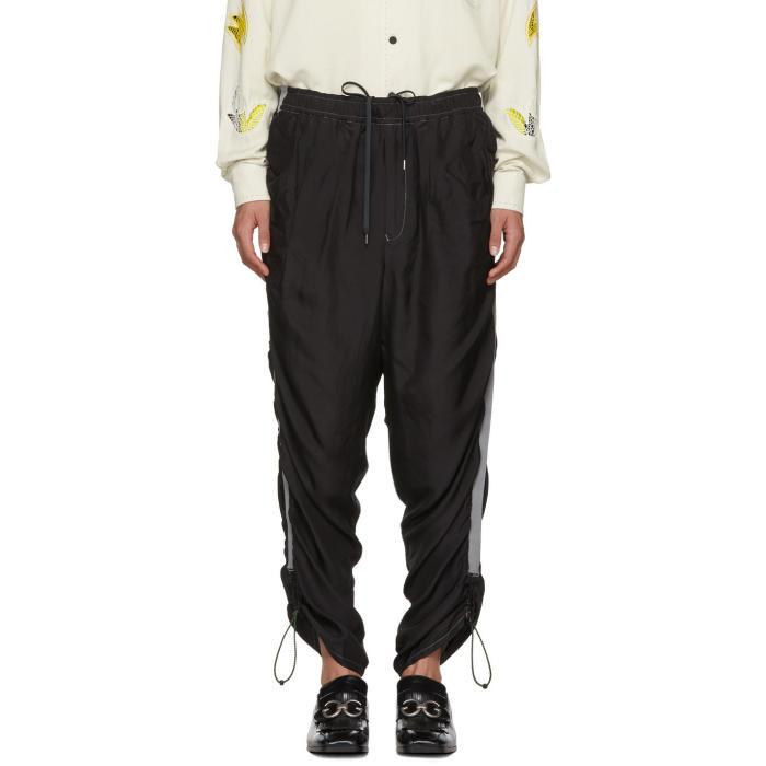 Photo: Toga Virilis Black Silk Lounge Pants