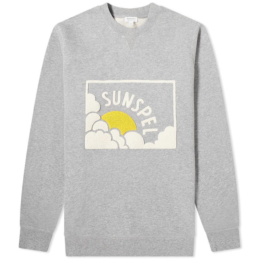 Photo: Sunspel Logo Crew Sweat